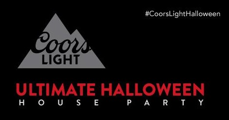 Free Coors Light Ultimate Halloween House Party Pack (Apply)