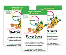 Free Rainbow Light Power Sours Multivitamin Gummies (Apply, Mom Ambassadors)