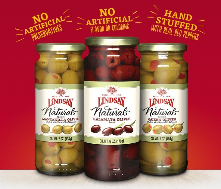 Free Jar of Lindsay Olives