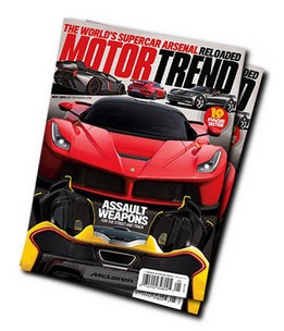 Free Subscription to Motor Trend Magazine (CA Only)