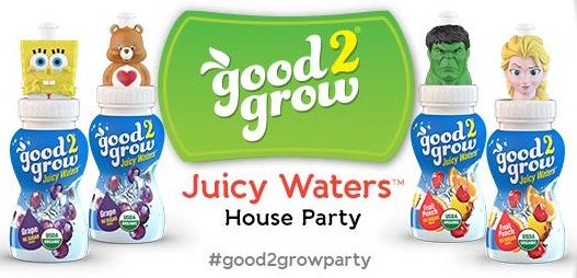 Free Good2grow Juicy Waters House Party Pack (Apply)
