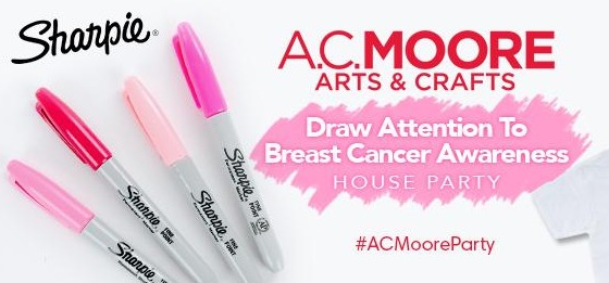 Free Draw Attention to Breast Cancer Awareness House Party Pack (Apply)