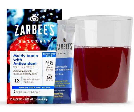 Free Zarbees Multivitamin With Antioxidant Supplement Sample