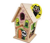 Free Haunted Birdhouse at Lowe's Build and Grow (10/10)