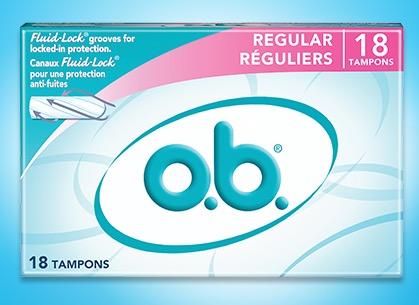 Free o.b. ProComfort Sample (Apply)