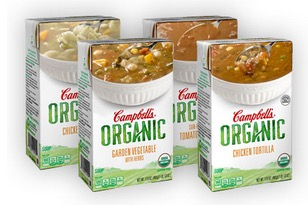 Free Campbell's Organic Soup (Apply, Mom Ambassadors)