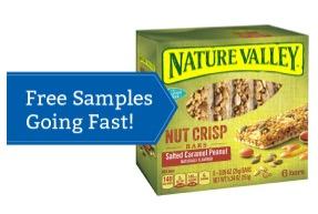 Free Natures Valley Nut Crisp (Pillsbury Members)