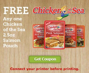 Free Chicken of the Sea Salmon Pouch