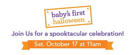 Free Baby's First Halloween Event at Babies