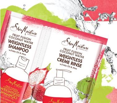 Free SheaMoisture Fruit Fusion Hair Care Sample (1st 10,000)