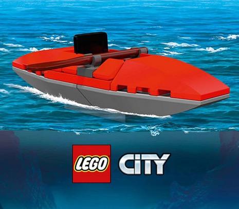 Free Mini LEGO City Kayak at Toys R Us  (10/17)