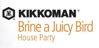 Free Kikkoman® Brine a Juicy Bird House Party Pack (Apply)