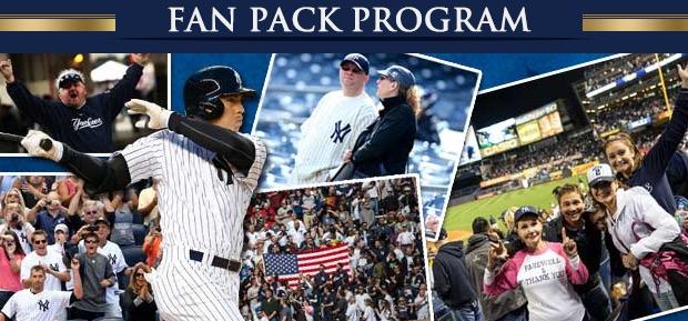 Free New York Yankees Fan Pack