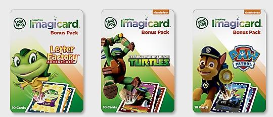 Free LeapFrog Imagicard Bonus Pack