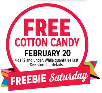 Free Cotton Candy for Kids at Kmart (2/20)
