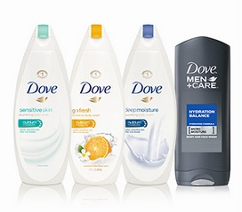 Free Dove Body Wash Sample (Select States)