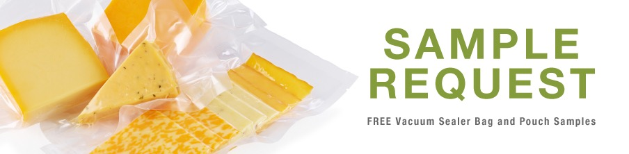 Free VacMaster Vacuum Sealer Bag and Pouch Sample Pack