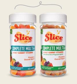 Free Slice of Life Adult Gummy Vitamin Sample