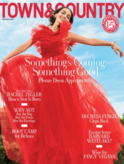 Free Print Subscription to Town & Country Magazine