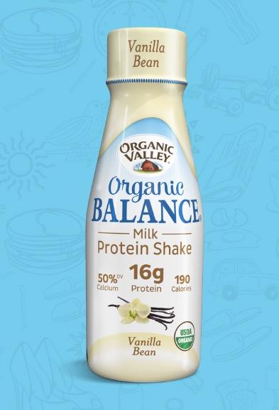 Free Organic Valley Organic Balance Milk Protein Shake