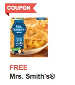 FREE Mrs. Smith's Pie at ACME Markets