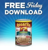 Free Rosarita Smooth Restaurant Style Refried Beans at Kroger