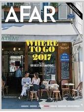 Free Subscription to Afar Magazine