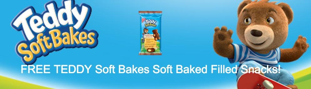 Free Teddy Soft Bakes Snacks Sample