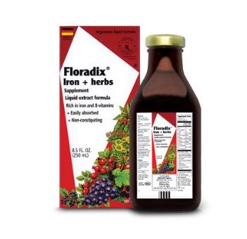 Free Flora Health Floradix Iron + Herbs Supplement (Apply, Mom Ambassadors)