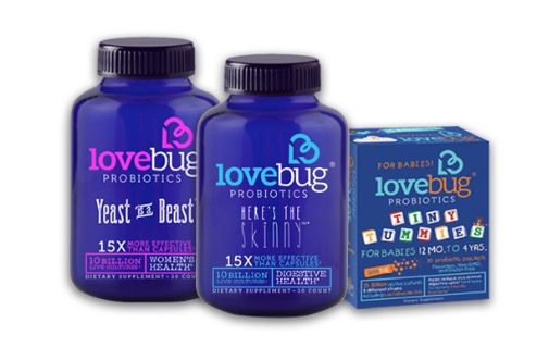 Free LoveBug Probiotics Tiny Tummies (Apply)