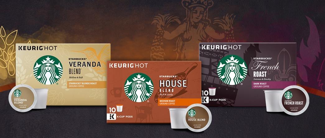 FREE Starbucks K-Cup Tasting Flight Sample Pack