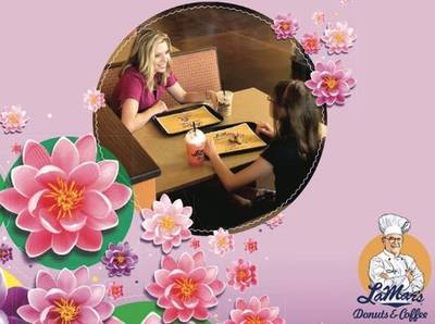 Free Donut and Small Coffee for Moms at LaMar's Donuts (5/13)