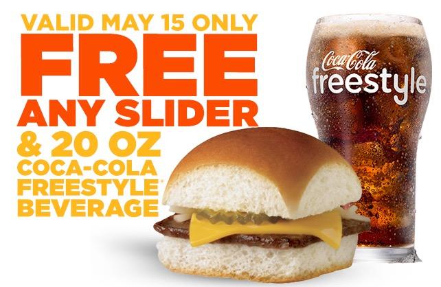 Free Slider and Beverage at White Castle