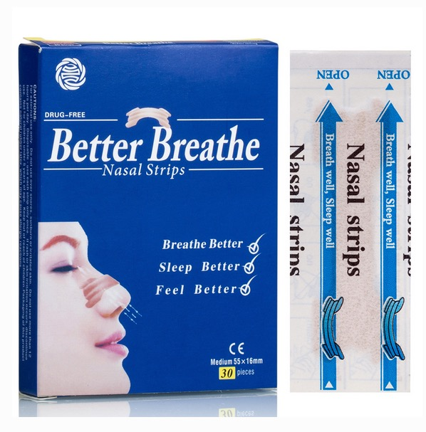 Free Snore Bore Better Breathe Nasal Strips Sample