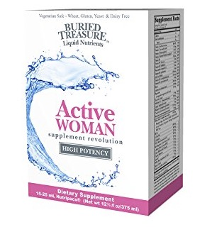 Free Buried Treasure  Nutripac Active Woman Supplement Sample