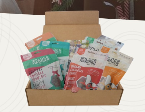 Free Wilder & Harrier Dog Treats Samples