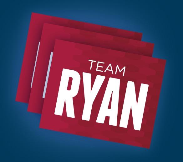 Free Team Ryan Stickers