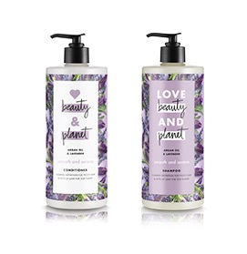 Free Love Beauty and Planet Argan Oil & Lavender Shampoo & Conditioner Samples (BJ's Members)