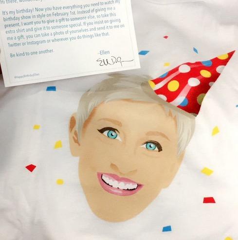 Free #EllenBirthdaySwag Gift
