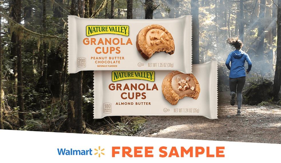 Free Nature Valley Granola Cups Sample at Walmart