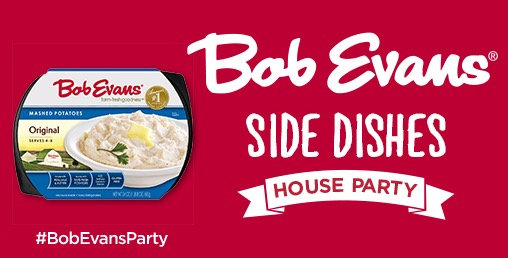Free Bob Evans Side Dishes House Party Kit (Apply)