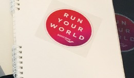 Free Saucony Run Your World Sticker