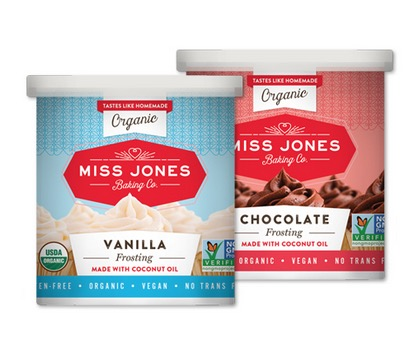 Free Miss Jones Baking Co. Frostings and Mixes (Apply, Mom Ambassadors)