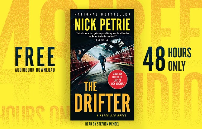 Free Audiobook the Drifter by Nick Petrie