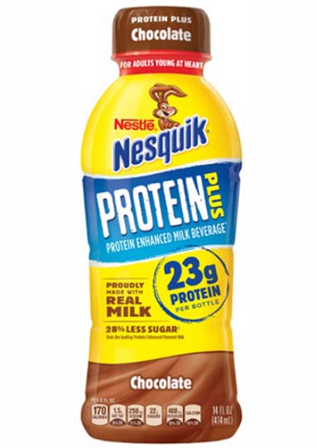 Free Bottle of Nesquik Protein Drink at 7-Eleven