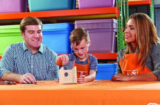 Free Window Birdhouse Workshop for Kids at Home Depot (4/7)