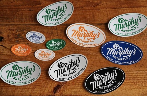 Free Murphy's Naturals Stickers
