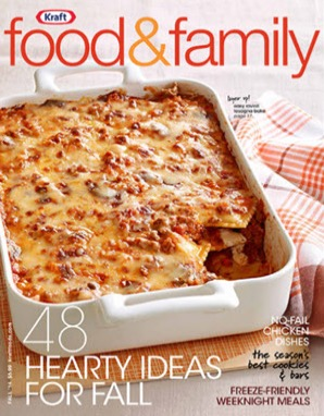 Free 2 Year Kraft Food and Family Magazine Subscription