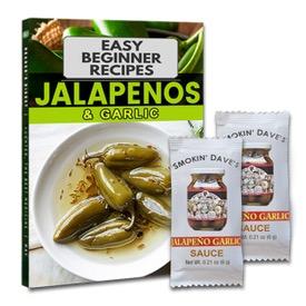 Free Jalapeno Garlic Sause Sample and Recipes Book