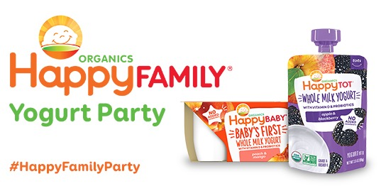 Free Happy Family Yogurt Party Kit